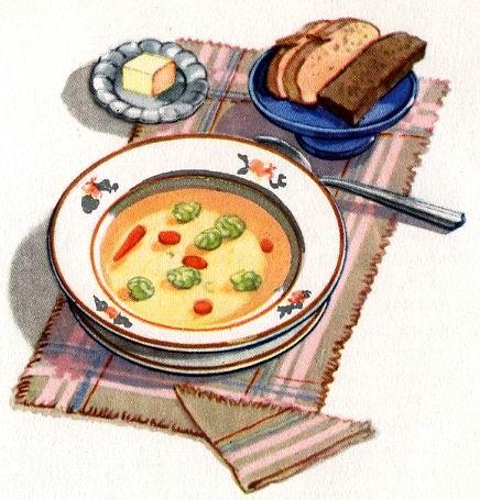 Еда для детского сада
